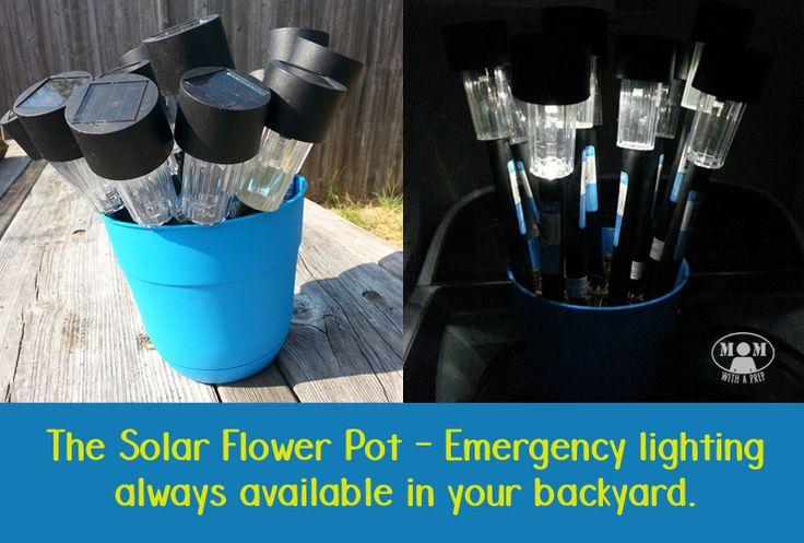 The Solar Light Flower Pot for Emergency Lighting – 10/23/15