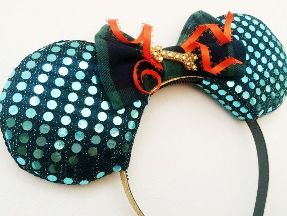 Merida Disney Ears Brave Disney Ears Merida by ToNeverNeverland