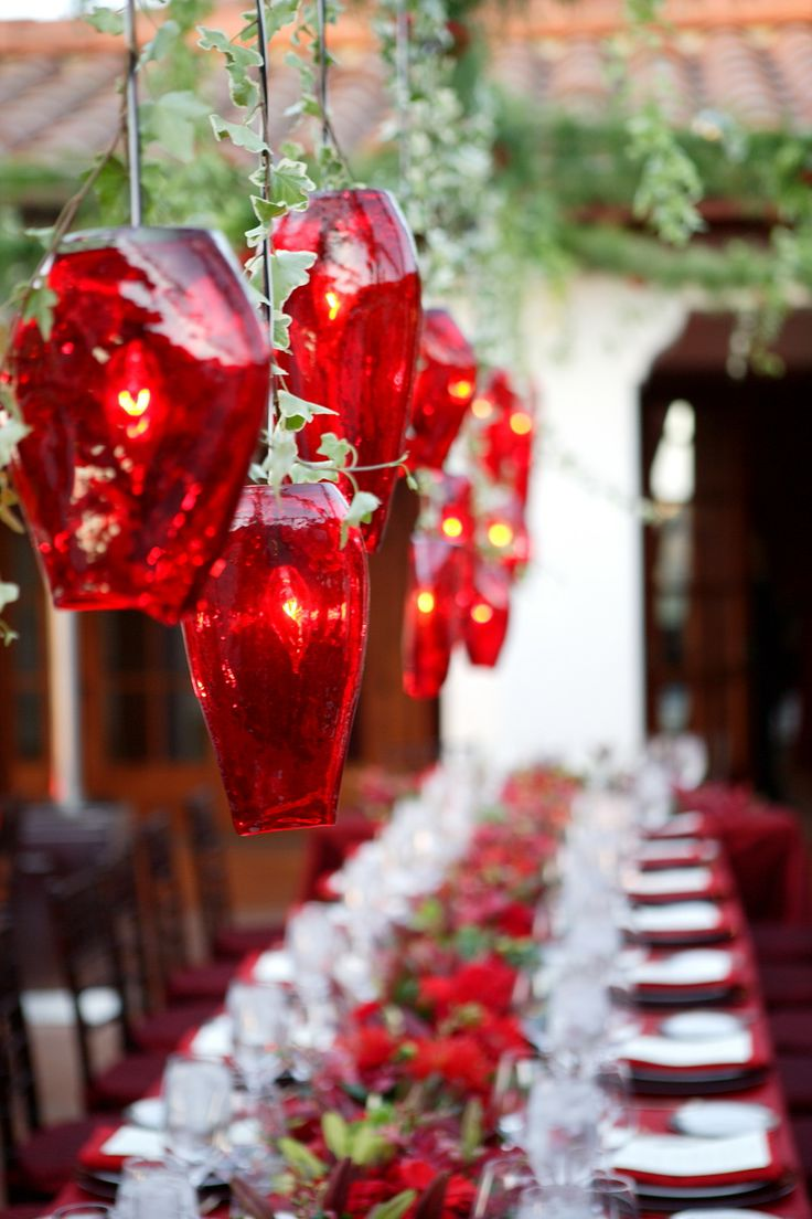 14 Best Christmas Table Decor Images On Pinterest