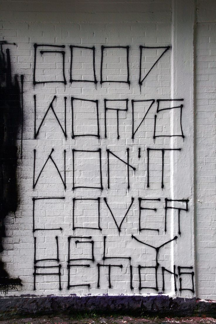 Grafitti art quote - Find This Pin And More On Graffiti By Fontaholic