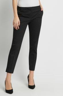 Puntíkované kalhoty zkrácené délky
