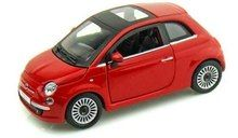 Motor Max 1/24 Scale Fiat Nuova 500 Red Diecast Car Model 73373 - www.DiecastAutoWorld.com 2312 W. Magnolia Blvd., Burbank, CA 91506 818-355-5744 AUTOart Bburago Movie Cars First Gear GMP ACME Greenlight Collectibles Highway 61 Die-Cast Jada Toys Kyosho M2 Machines Maisto Mattel Hot Wheels Minichamps Motor City Classics Motor Max Motorcycles New Ray Norev Norscot Planes Helicopters Police and Fire Semi Trucks Shelby Collectibles Sun Star Welly
