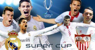 Real Madrid vs Sevilla UEFA Super Cup 2016 Live Stream