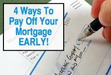 Helpful tips on paying off your mortgage early.