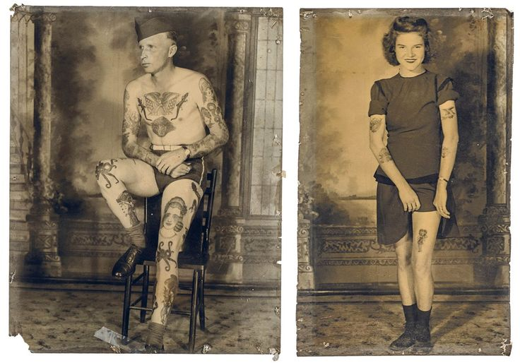 Skin deep: glimpse into the history of American tattoo design – in pictures | Fashion | The Guardian