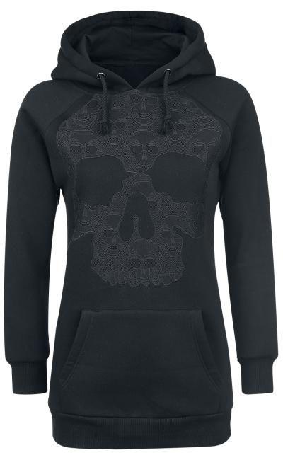 Skull Hoodie by Black Premium ~ EMP