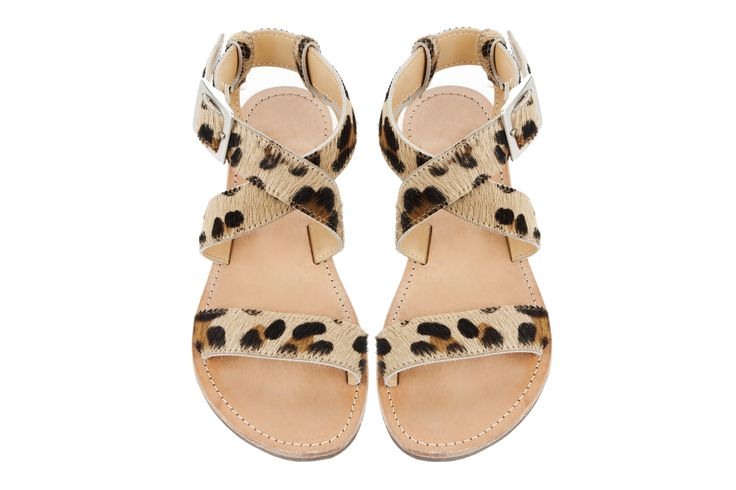 Isapera sandals : St. John in Leopard