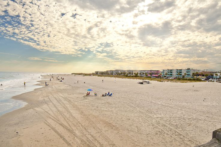 Tybee Island, also known as Savannah Beach, is an easily accessible barrier island located just 18 miles away from Savannah.