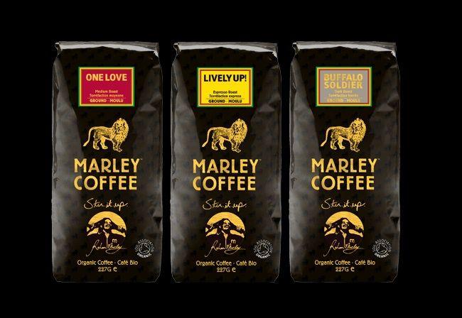Marley Coffee. Buffalo Soldier is so good.