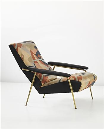 GIO PONTI AND MAURO REGGIANI Rare 'Distex' armchair, model no. 807