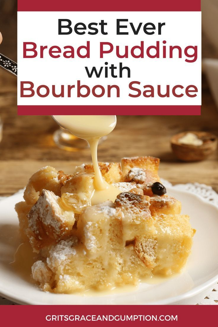 Mar 29, 2020 – This traditional bread pudding with bourbon sauce is the perfect holiday dessert. It's decadent and delic…