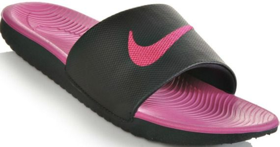 81f391f09b7b Nike Girls Slides ONLY  13 (Regularly  26) + Free Shipping for Kohl s  Cardholders