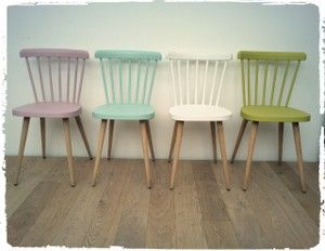 25 best ideas about chaise bistrot on pinterest chaises for Repeindre des chaises