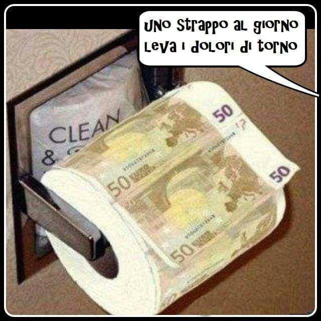 Euro, battute, risate