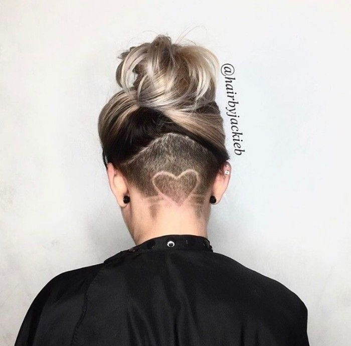 undercut hairstyle for women