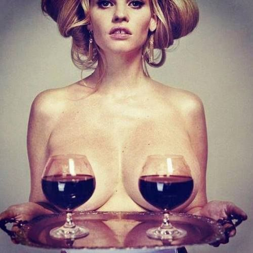 red wine and beauty