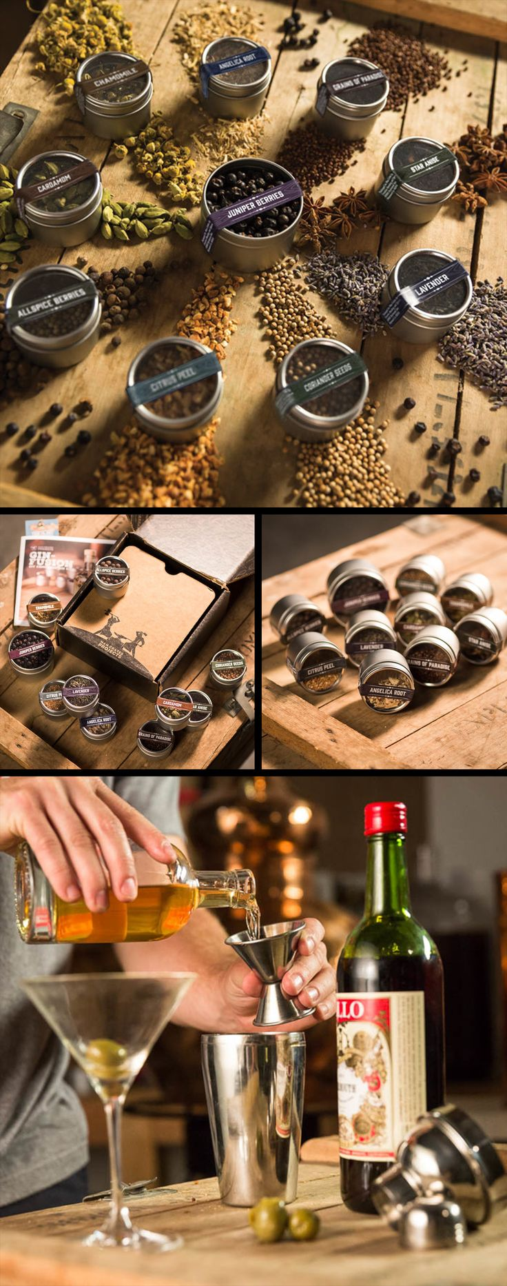 26 best man crates images on pinterest man crates christmas gift refill his diy drinking gin kit so your man can create to his hearts content solutioingenieria Gallery
