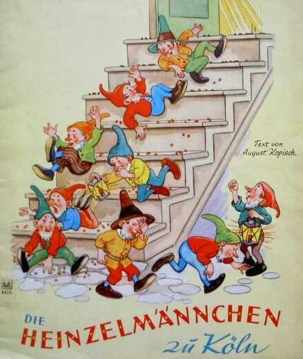 """""""Die Heinzelmännchen zu Köln"""" - Märchenbuch aus den 60er"""