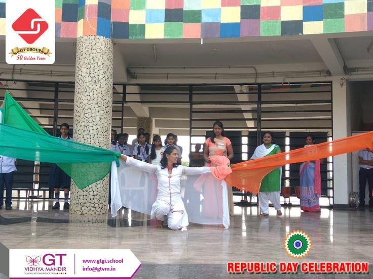 Republic day celebration- 26.1.2018 at GT Vidhya Mandir  #Happyrepublicday #Happyrepublic #Republicday #Chennai #School #CBSE #Education #Thiruvallur #Vadamadurai #Flag #Tiranga #Indianflag #Celebration #festival