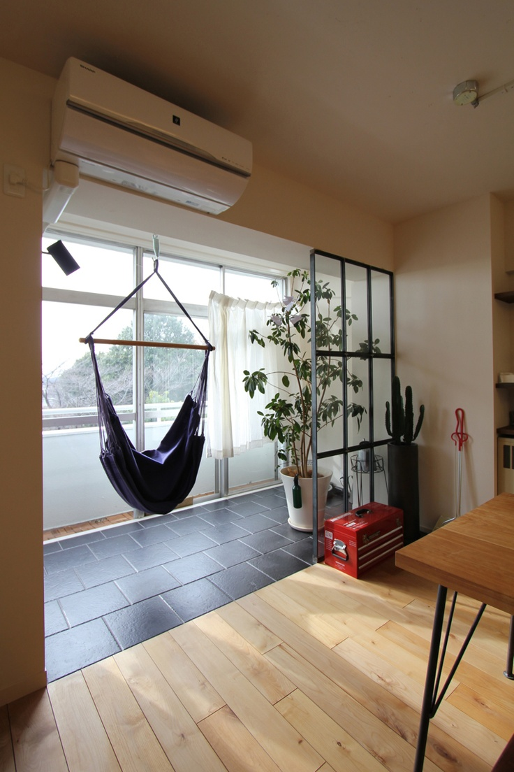LIVING DINING/SUN ROOM/サンルーム/リビング/ダイニング/フィールドガレージ