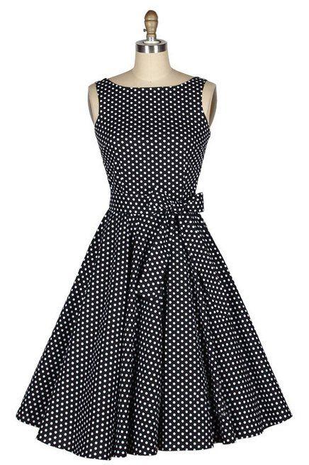 Vestido Vintage de Bolinhas - Produto 507309   AIRU