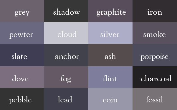 The Color Thesaurus For Writers Pinterest Colours Inspiration And Shades
