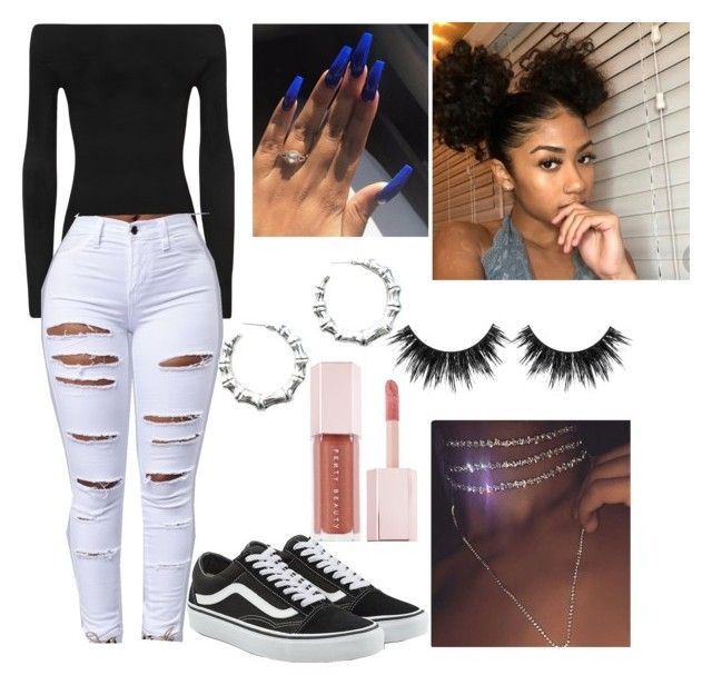 """""""Simple Baddie"""" by alemz on Polyvore featuring WearAll, The Boys, Vans and Puma"""
