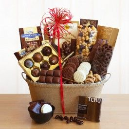 California Delicious| Chocolicious Chocolate Gift Basket