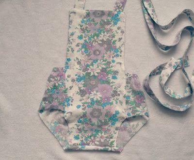 Tutorial: Vintage Romper... How To plus Pattern