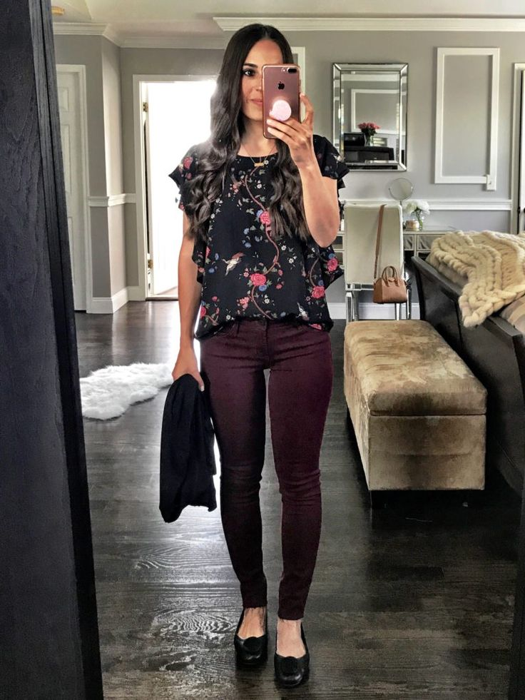 Cute fall casual look   Teacher outfit