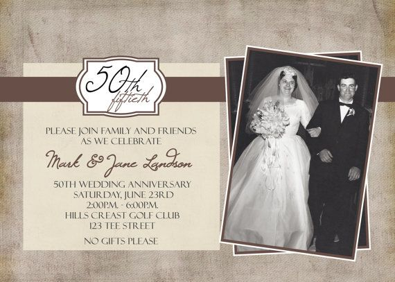 50th Wedding Anniversary Invitation Ideas: 50 Best Anniversary Ideas Images On Pinterest