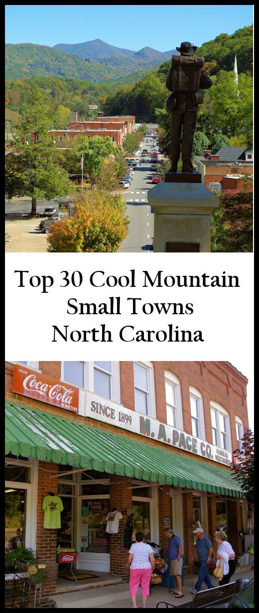 See our favorite 30 small towns near Asheville, North Carolina, in the Blue Ridge Mountains: www.romanticashev...