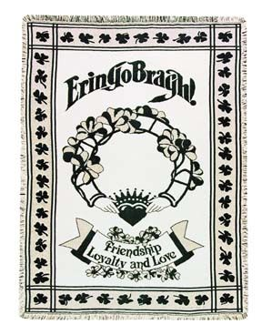 Erin Go Bragh Throw