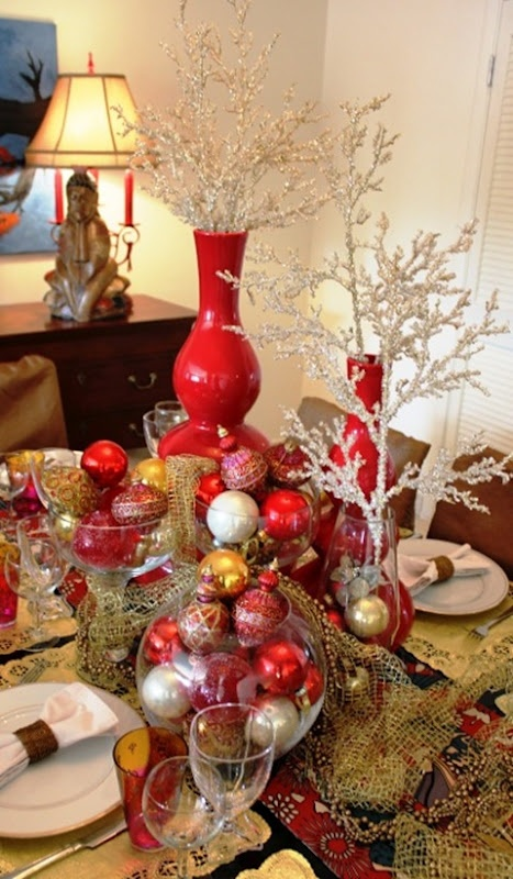 1000 Images About Christmas Red Gold And White Theme