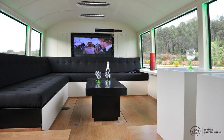 ONElider autocarro showroom de vinhos da Quinta da Lixa | Bus wine showroom