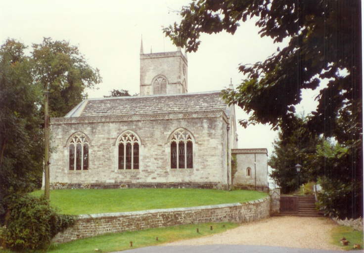 Moreton, Dorset (the church with windows etched by Whistler)