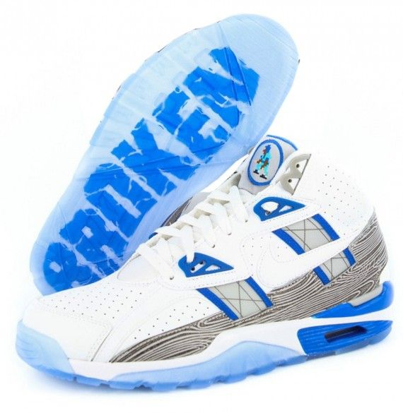 nike air trainer sc broken bats bo jackson - cool clear outsole