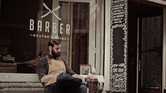 Barber Amsterdam - The Stranded Sailors. Barber, a shaving salon in Amsterdam.  The Stranded Sailors tumblr: thestrandedsailors.com The Stra...