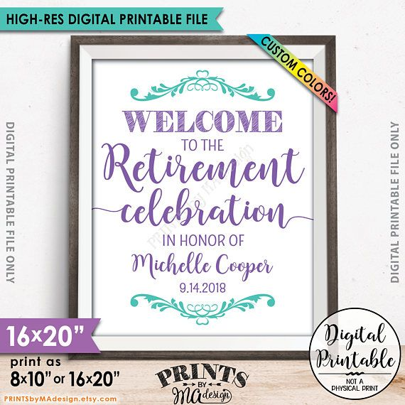 11 best Retirement Party images on Pinterest Retirement parties - retirement party flyer template