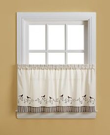 Gingham 60 X 14 Valance Curtains, White paneling, Tier