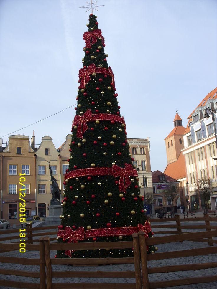 Grudziądz -Stare  Miasto w świątecznej  odsłonie