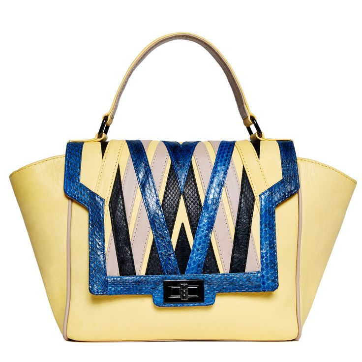 EDIE - Yellow/Blue | Elyse & i by Cheet London