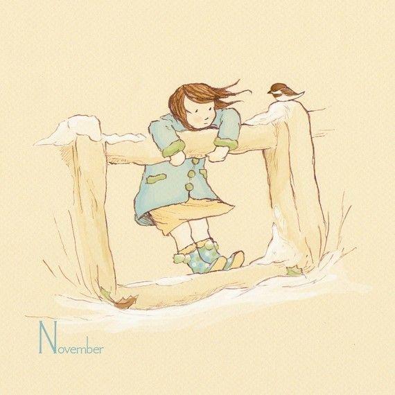 November's Friend  by sarah jane studios
