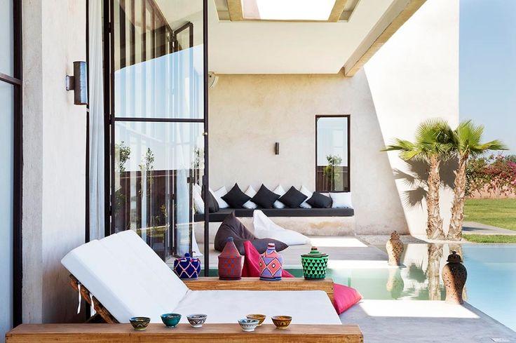 Location Villa Marrakech Dar Nyaman pour vos vacances au Maroc
