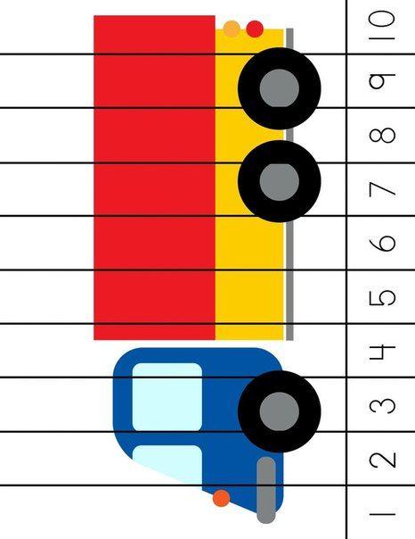 * Cijfer puzzel: Vrachtwagen!