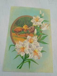 Shabby Vintage Antik Kitzingen Schöpfkelle Emaille Alt byROSALIE