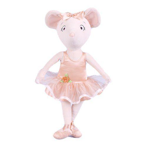 ballerina dolls | Madame Alexander, Angelina Ballerina Cloth Doll, Angelina Ballerina ...