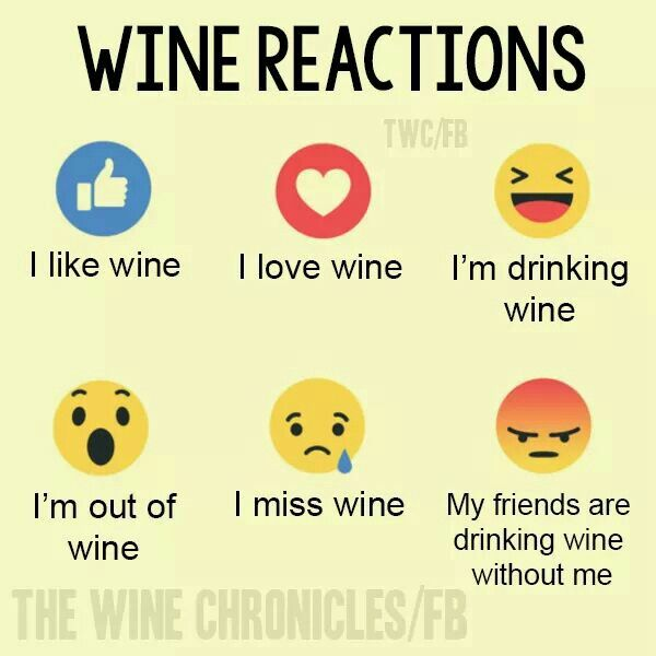 Wine Reactions                                                                                                                                                                                 More