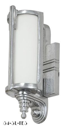 Art Deco Streamline Modern Wall Sconces Lights Lighting Fixtures 34 SL NES