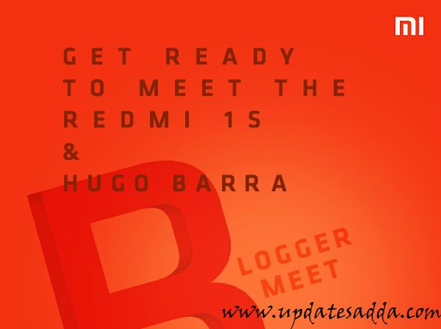Xiaomi Redmi 1S is Ready to Launch In India on Tuesday